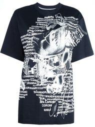 футболка с графическим принотм  Nicopanda