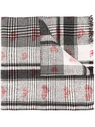 шарф с принтом сердец  Faliero Sarti