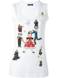 майка 'Family Patch'  Dolce & Gabbana