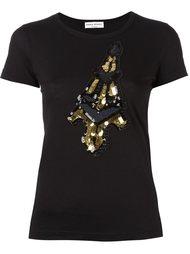 "футболка ""Eiffel Tower"" Sonia Rykiel"