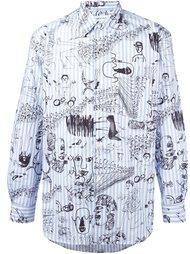 рубашка с принтом иллюстраций Comme Des Garçons Shirt