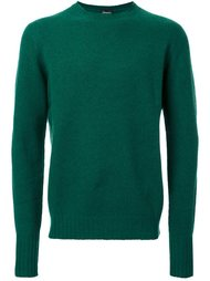 пуловер с круглым вырезом Drumohr