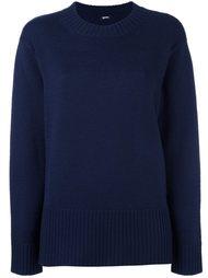 свободный свитер  Jil Sander Navy