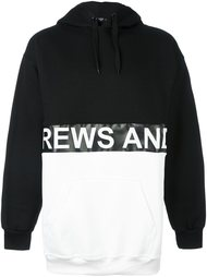 толстовка с капюшоном и логотипом Andrea Crews