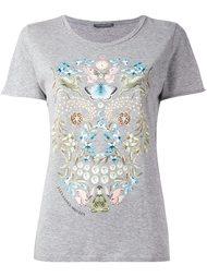 футболка с принтом 'Obsession' Alexander McQueen