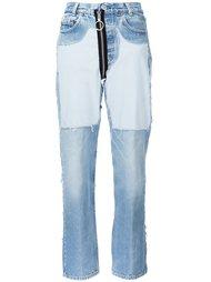 джинсы в стиле бойфренд Off-White
