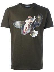 футболка с фото-принтом  Neil Barrett