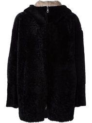 короткое двухстороннее пальто Sylvie Schimmel