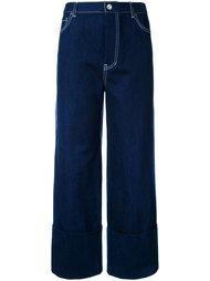 широкие джинсы  Le Ciel Bleu