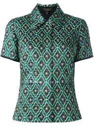 блузка с геометрическим рисунком Burberry