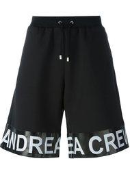 шорты 'Band' Andrea Crews