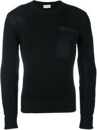 свитер с карманом Moncler