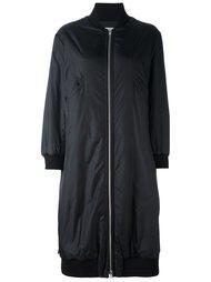 объемное пальто в стиле куртки бомбер Hache