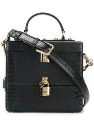сумка-тоут с двойными замочками Dolce & Gabbana