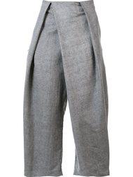 брюки со складками свободного кроя  Lost & Found Ria Dunn
