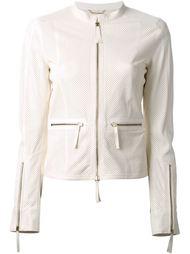 перфорированная куртка Roberto Cavalli