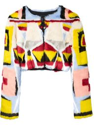 укороченный пиджак KTZ