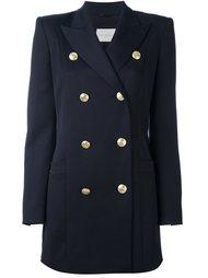 пальто в стиле милитари со структурированными плечами Pierre Balmain