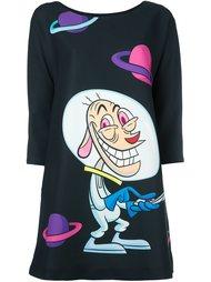 платье с принтом мульт-персонажа Jeremy Scott