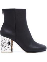 ботинки на контрастном каблуке  Maison Margiela