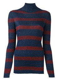 striped roll neck pullover Cédric Charlier