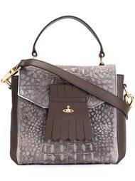 сумка-тоут с эффектом крокодиловой кожи Vivienne Westwood
