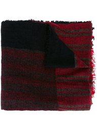 вязаный шарф в полоску Uma Wang