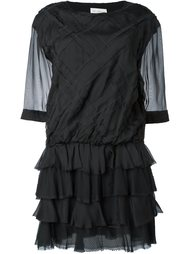 платье свободного кроя с рюшами Faith Connexion