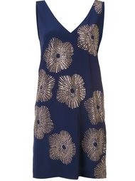 studded flower shift dress Trina Turk