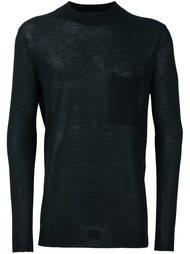 свитер с круглым вырезом  Uma Wang