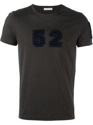 футболка с нашивкой  Moncler