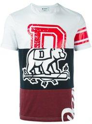 футболка колор-блок  Dondup