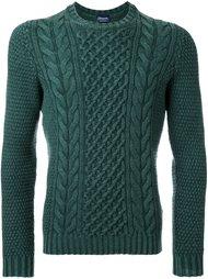 свитер аранской вязки Drumohr