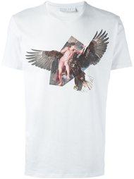 футболка с принтом орла Neil Barrett