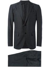 notched lapel formal suit Ermenegildo Zegna