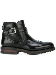ботинки с пряжками Salvatore Ferragamo