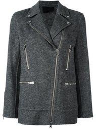 пиджак с молниями Alexander Wang