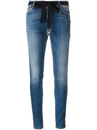 джинсы кроя скинни   Twin-Set