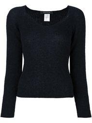 пуловер с V-образным вырезом Cédric Charlier