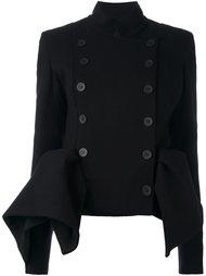 двубортная куртка с драпировкой Capucci