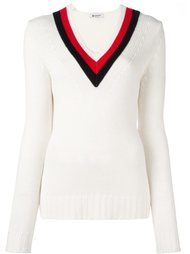 свитер c V-образным вырезом   Dondup