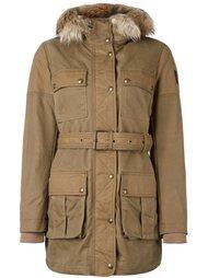 пальто с поясом  Belstaff