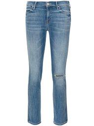 укороченные джинсы Mother