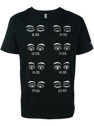 футболка с принтом 'eyes' Moschino