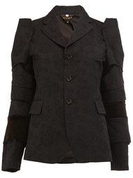 cloqué panelled jacket  Comme Des Garçons
