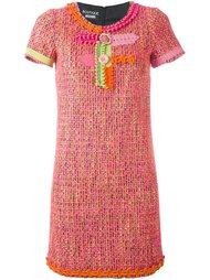 декорированное платье  Boutique Moschino