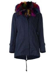 пальто с меховой отделкой  Forte Couture