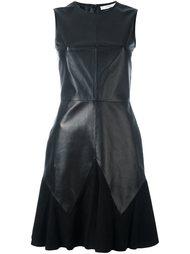 платье с драпированной вставкой Givenchy
