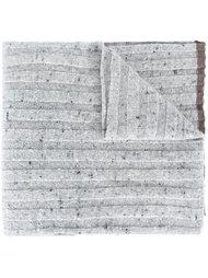 трикотажный шарф в рубчик Brunello Cucinelli