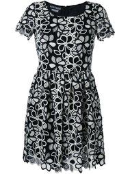 расклешенное мини-платье  Boutique Moschino